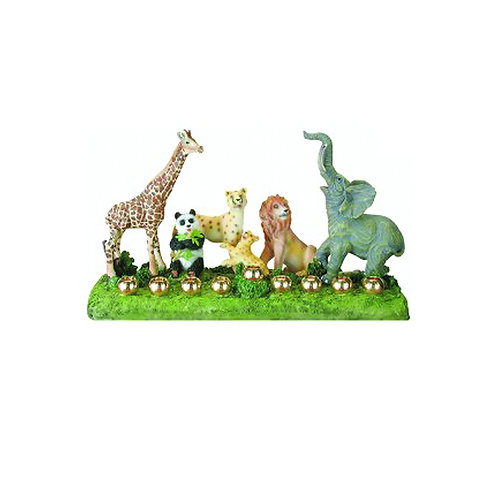 Wildlife Children's Hanukkah Menorah
