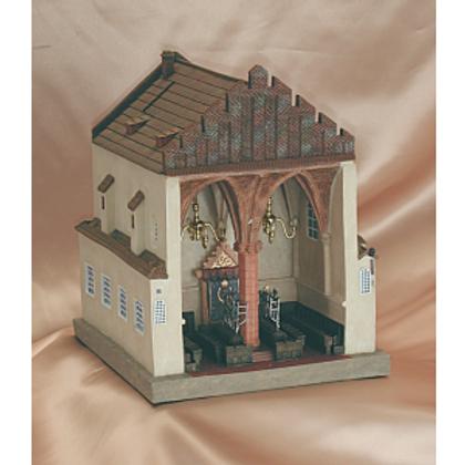 ITZ 302-The Maharal Synagogue Tzedakah Box (Prague, Czech Republic)