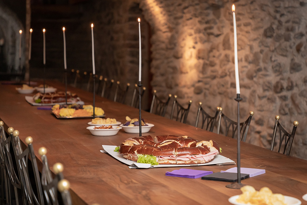 Casa Gronda Ilanz Hochzeitsapero