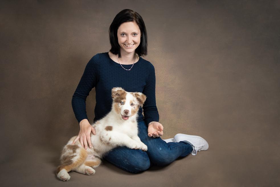 Portraits mit Hund
