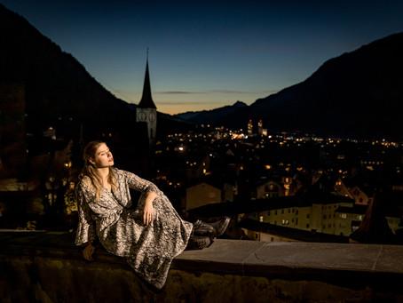 Chur Altstadt: dramatische Portraits bei Nacht