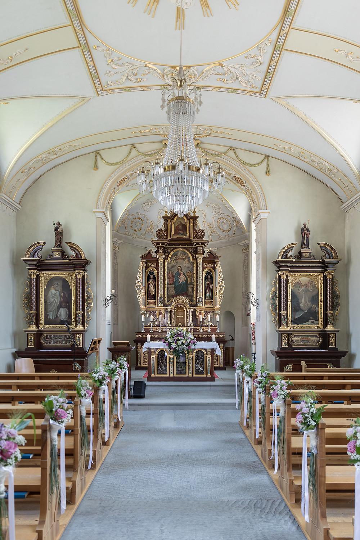 Pfäffikon Kirche Hochzeitsfotograf
