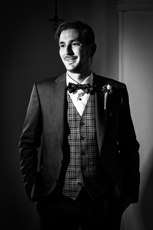 Nisago Anzug Hochzeitsfotografie