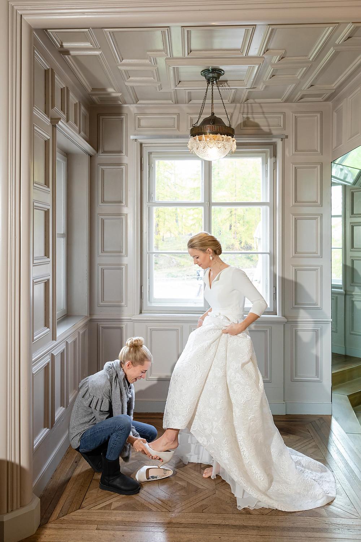 Vorbereitungen Braut, getting ready