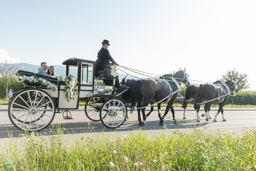 Hochzeitskutsche Rapperswil