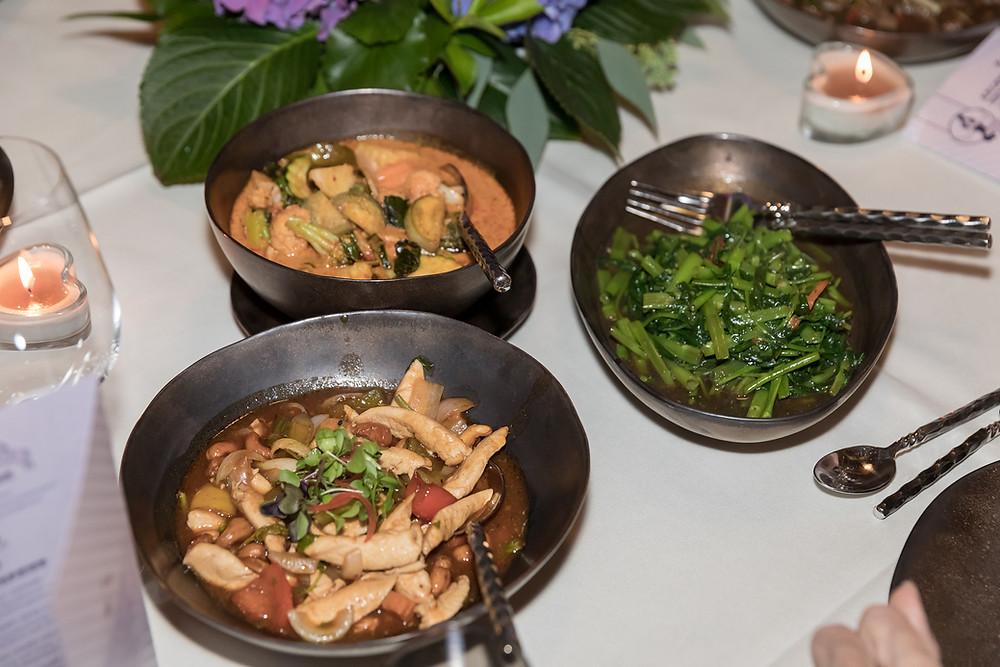 Asiatisches Hochzeitsmenü Himmapan Restaurant