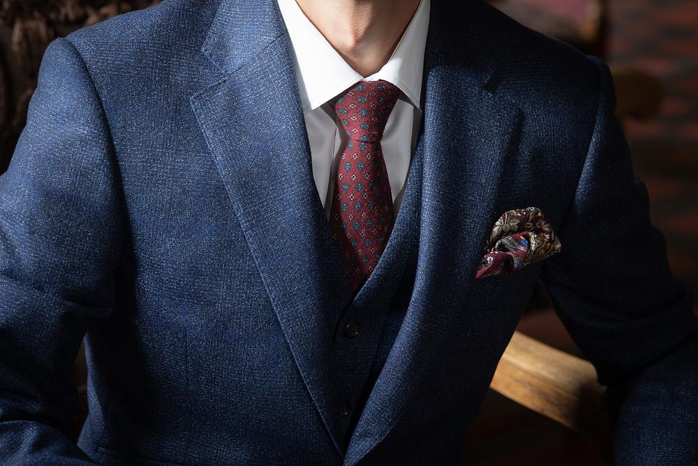 Detailbild Bräutigam Anzug