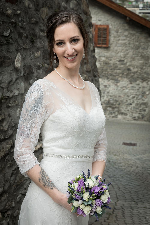Ilanz Altstadt Brautpaarshooting