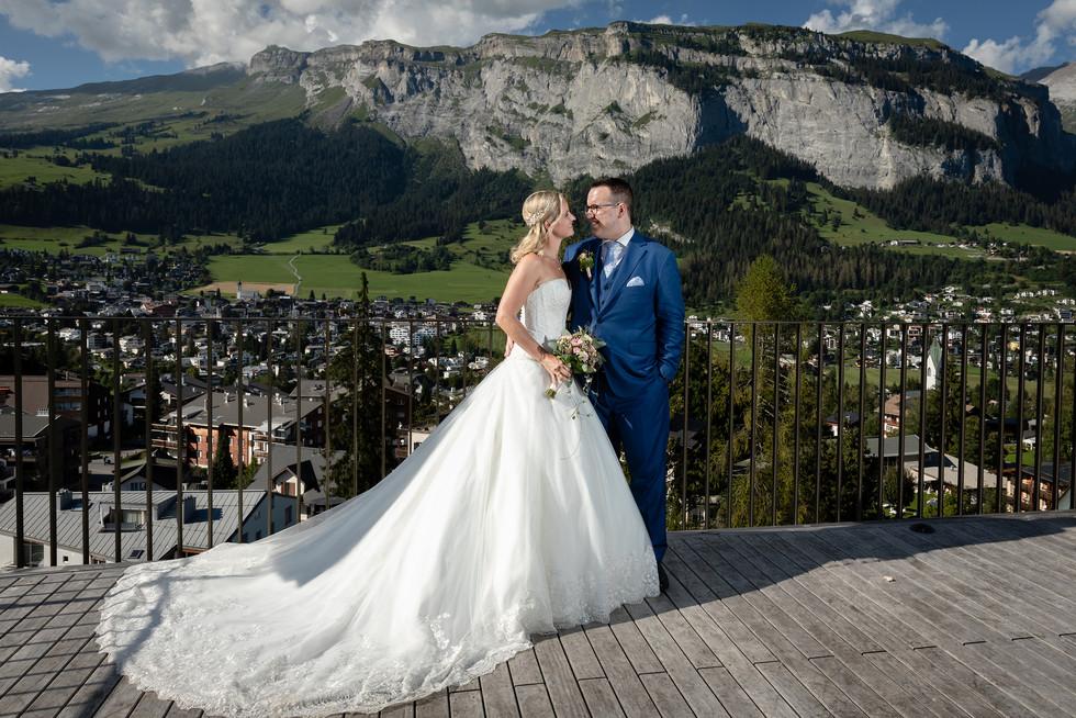 Hochzeitsfotografie Flims