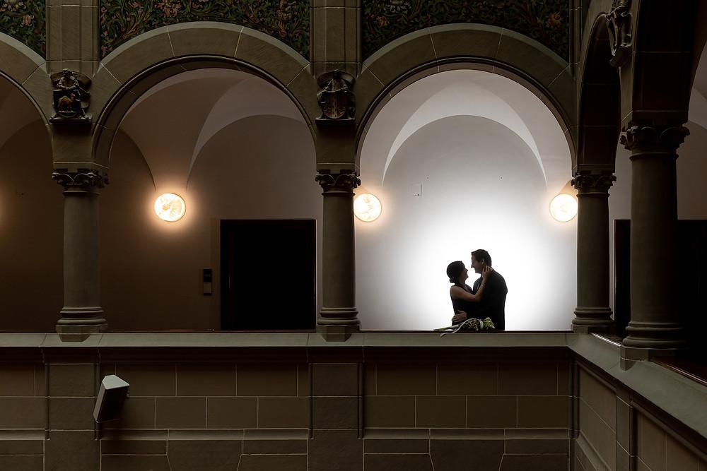 zivile Trauung Stadthaus Zürich Hochzeitsfotografie Limmat