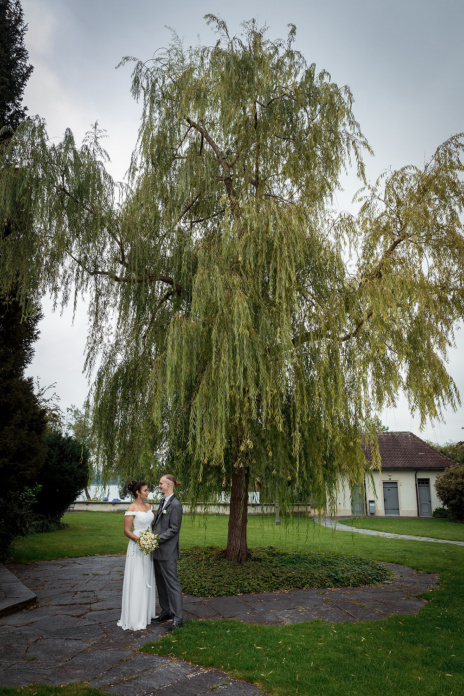 Pfäffikersee Brautpaarfotos