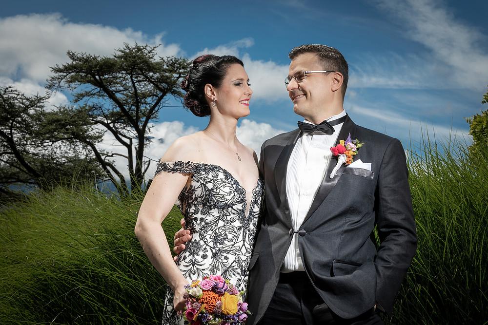 Hochzeitsfotos in der Natur Vaduz