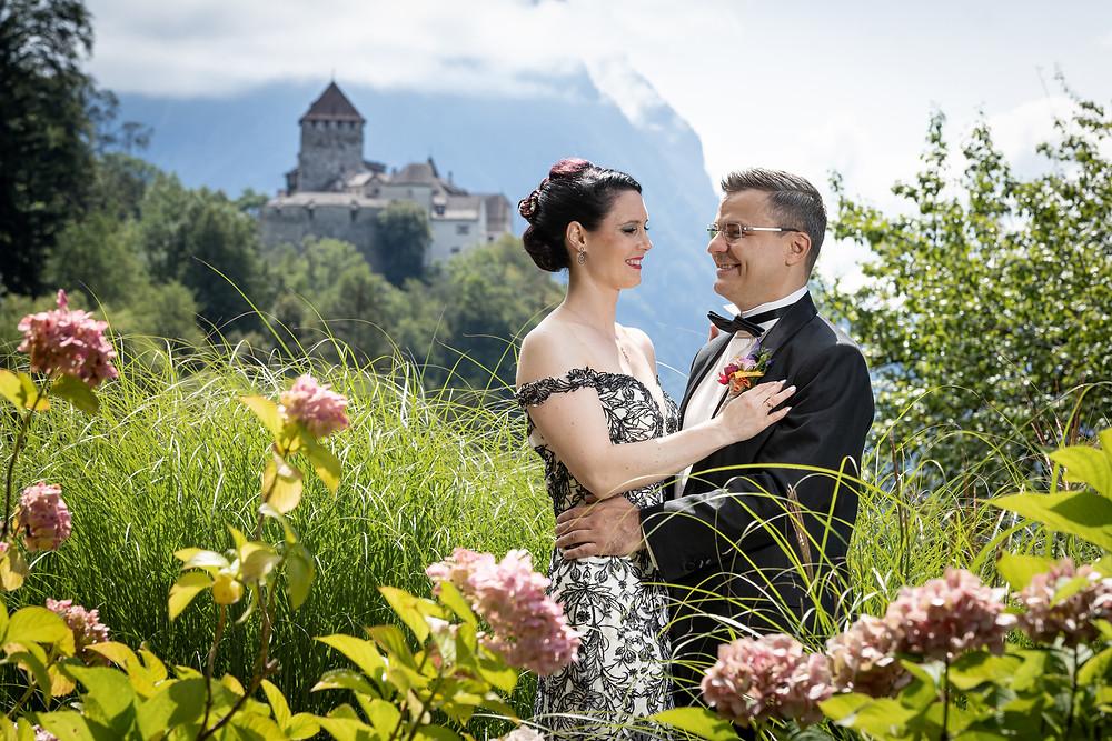 Vaduz Brautpaarshooting in der Natur