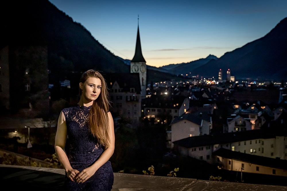 Altstadt Chur Fotoshooting Portrait