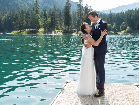 Caumasee Flims: Hochzeit Pashi & Nic