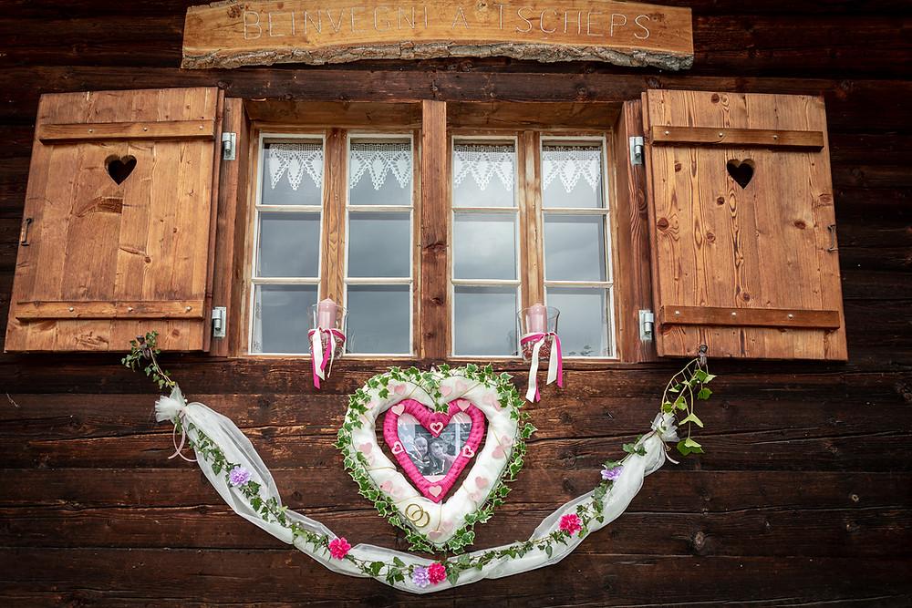 Maiensäss Hochzeitsfeier