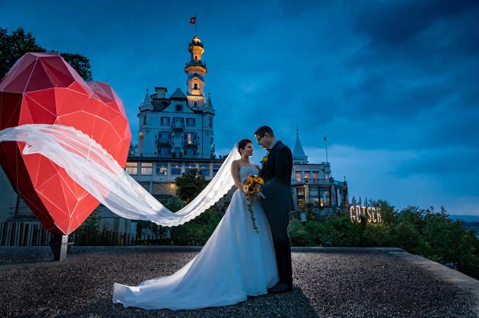 Hochzeitsfotografie Gütsch Luzern