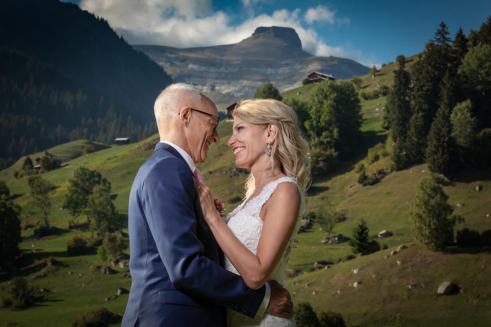 Natur Brautpaarfotografie