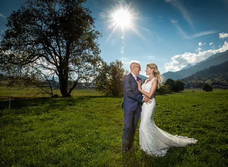 Hochzeitsfotografie in Brigels und Valendas - eine Traumhochzeit und Hochzeitsfotos