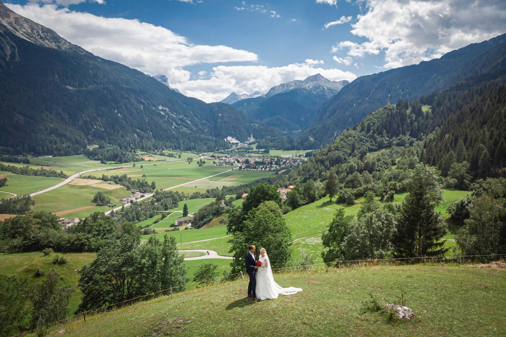 Drohne Hochzeitsfotos