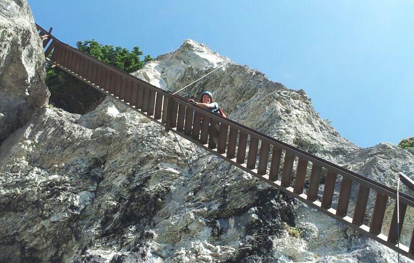Klettersteig Pinut Flims