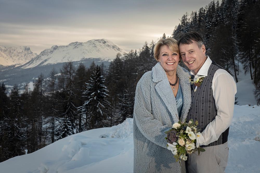 Winterhochzeit in Lenzerheide