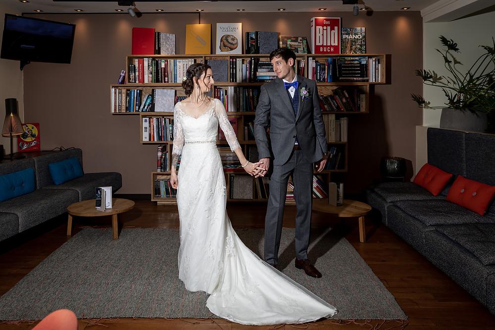 First Look Laax Hochzeitsfotograf