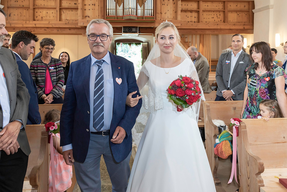 Kirche Andeer Hochzeitsfotos