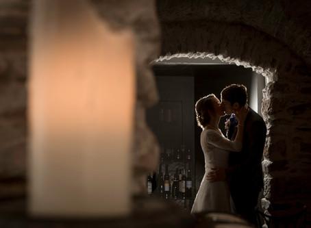 Hochzeitsfotograf zivile Hochzeit in Ilanz - Hochzeitsfotos bei Regen