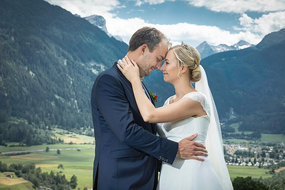 Hochzeitsfotos Natur Graubünden