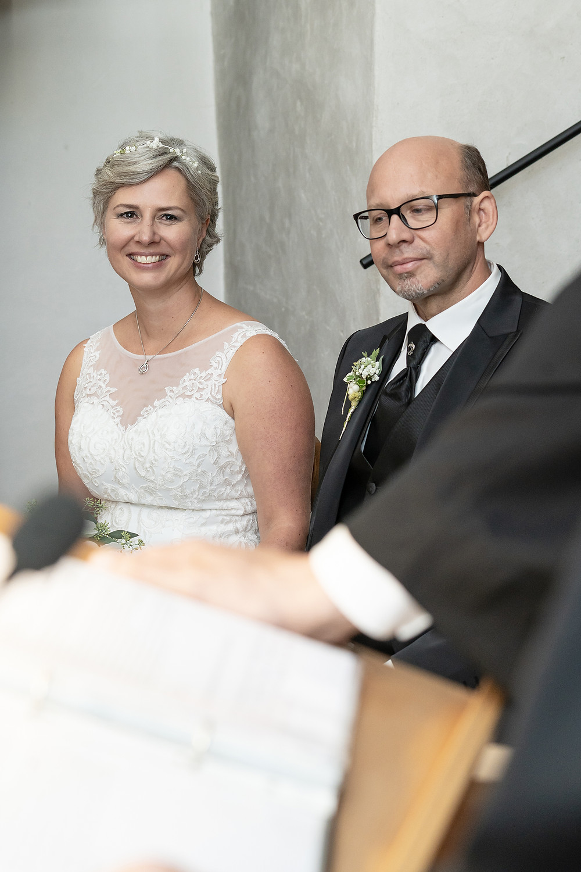 Brautpaar in Kirche Chur