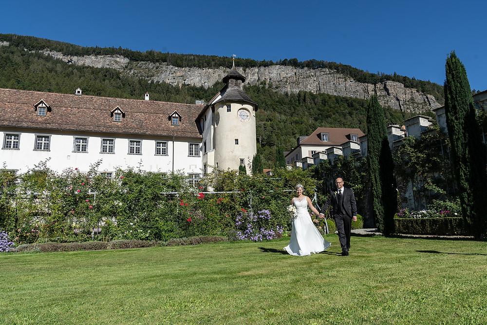 Brautpaarbild Schloss Haldenstein