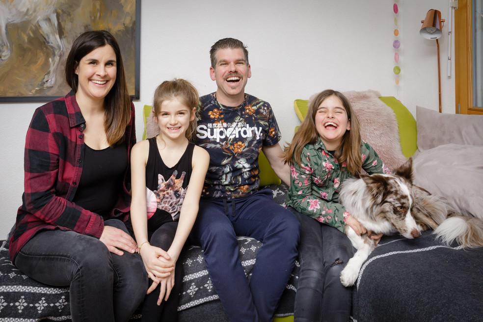 Familien Homestory