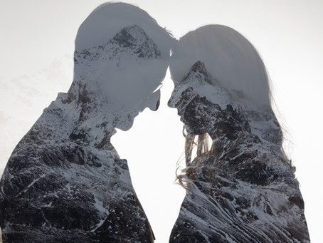 St. Moritz, Muottas Muragl - Engadin: zivile Trauung