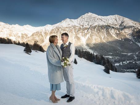 Guarda Val Lenzerheide: Winterhochzeit in den Bergen