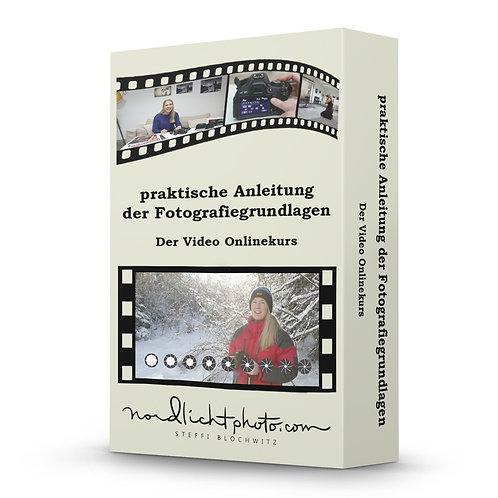 Video Onlinekurs Praktische Anleitung der Fotografiegrundlagen