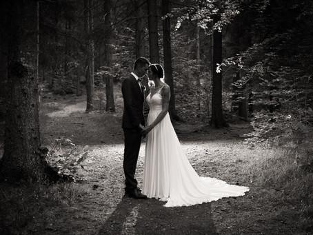 Blockhütte Bonaduz: eine Hochzeit mit viel Emotionen