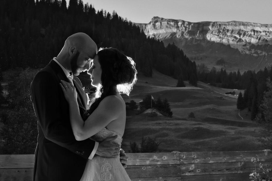 Hochzeitsfotografie Laax