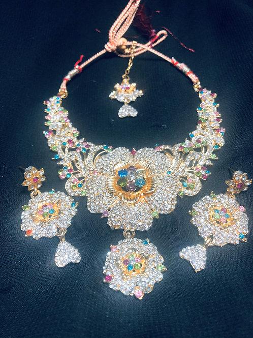 Multi Color Jewellery Set