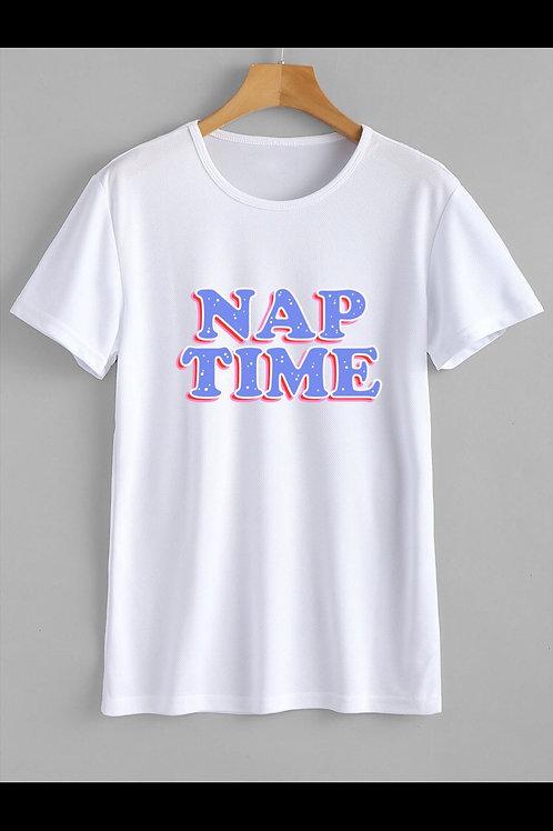 Nap Time Sticker T-Shirt