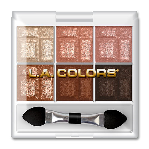 L.A. Colors 6 Color Eye shadow Pallet