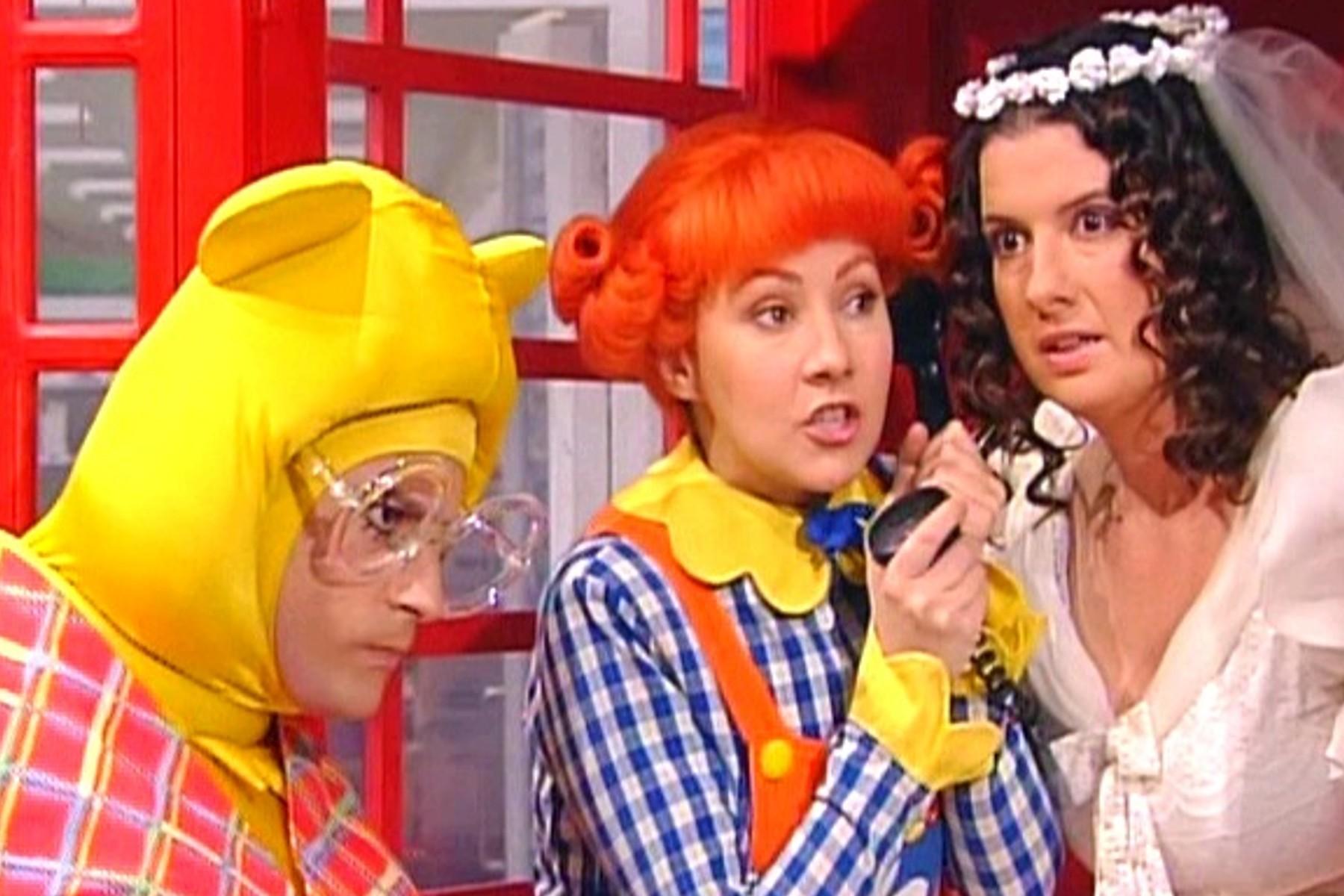 Tracy and Polpetta -The Bride