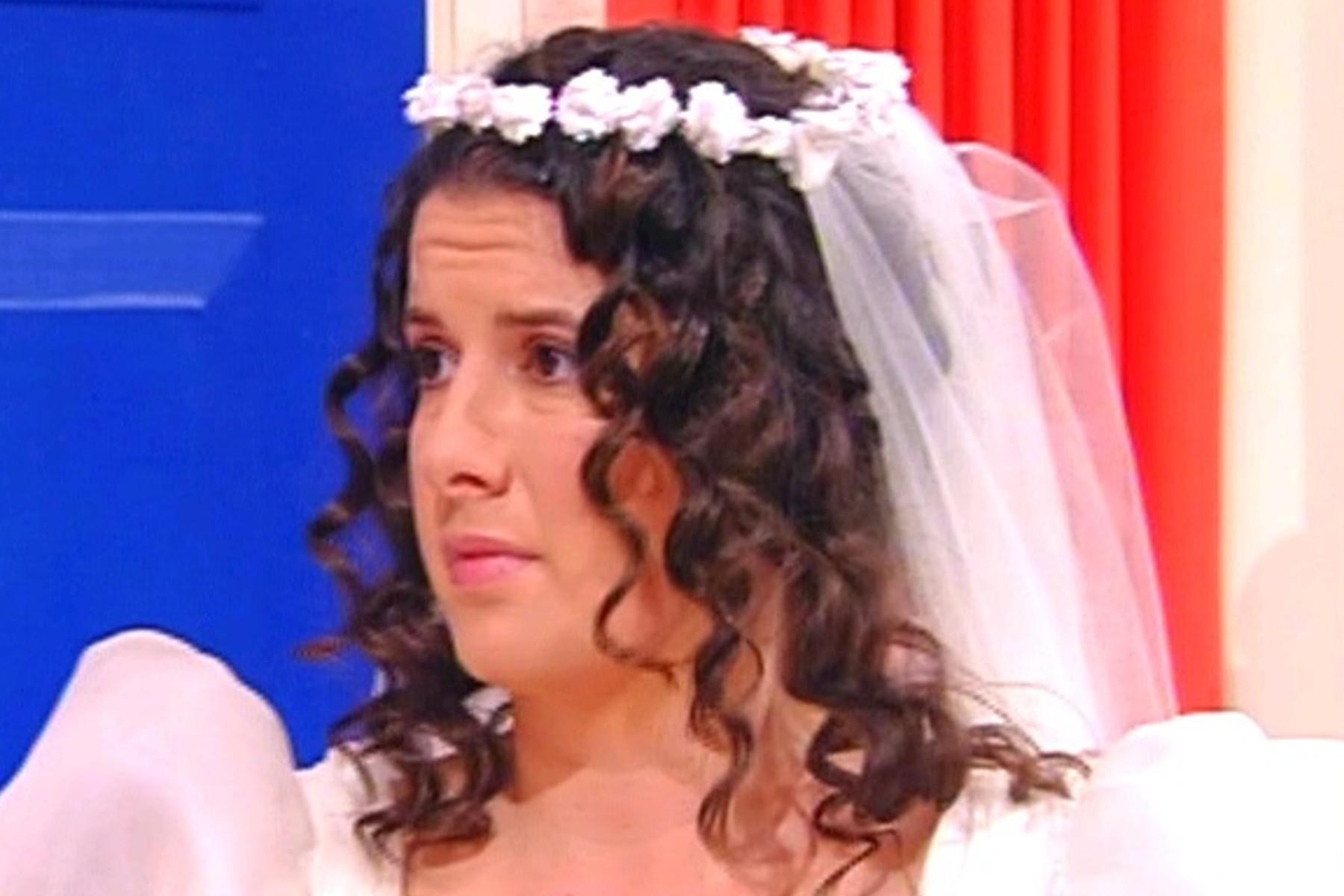 Tracy and Polpetta- the bride