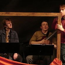 On tour with Theatre Alibi's 'Caught.'