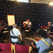 Teaching at the Huddersfield Jazz Guitar Festival