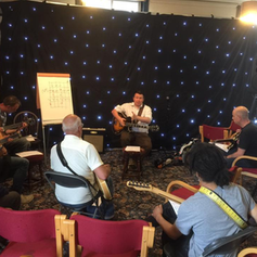 Teaching at the Huddersfield Jazz Guitar Festival