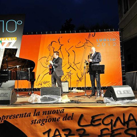 With Judy Carmichale and Rob Fowler, Legnano Jazz Festival
