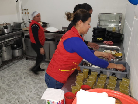 The church in Colombia, serving migrants in COVID-19 time