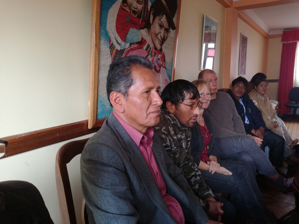 Pastor German Loayza  and other IELB Board Members.