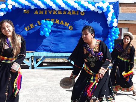 Lutheran School, in La Paz-Bolivia, 28 anniversary